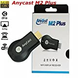 HDMI TV Stick, DMG AnyCast 1080P WiFi Wireless Mini Display Receiver Dongle HDMI TV Miracast DLNA Airplay for IOS Apple iPhone iPad Android Smartphone Windows Mac