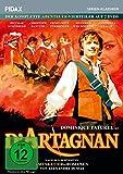 D'Artagnan/Der komplette Abenteuer-Vierteiler nach den Musketier-Romanen von Alexandre Dumas (Pidax Serien-Klassiker) [2 DVDs]