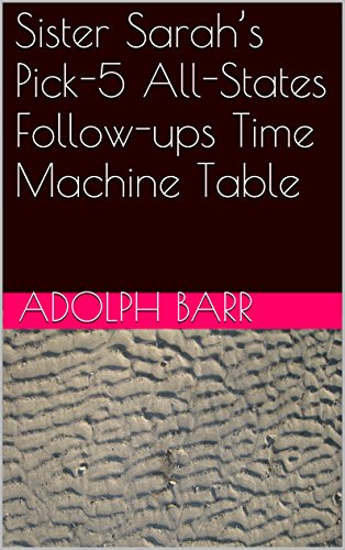 sister-sarahs-pick-5-all-states-follow-ups-time-machine-table-english-edition