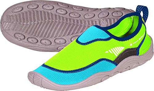 Aqua Sphere Beachwalker RS en néoprène Eau/plage Chaussures, mixte, Beachwalker RS Royal Blue/Light Green