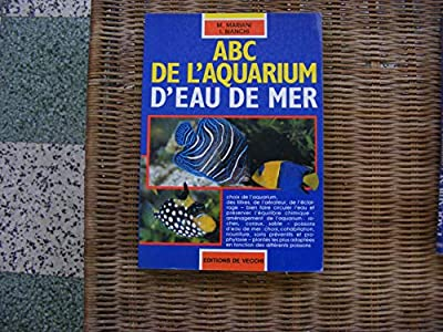ABC de l'aquarium d'eau de mer