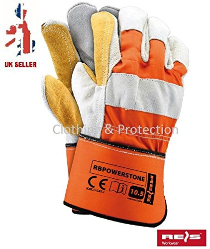 double-palm-heavy-duty-reinforced-rigger-leather-work-gloves-safety-gauntlets-cowhide-docker-safety-