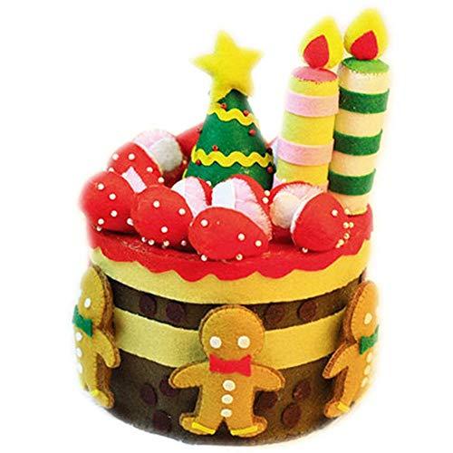 Black Temptation DIY Navidad/Regalo de cumpleaños no Tejido Hecho a Mano