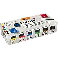 Javana 90600 - Pinturas para tela (6 x 20 ml)