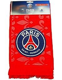 PSG - Écharpe PSG Officielle 'Paris Magic' - Couleur : Rouge