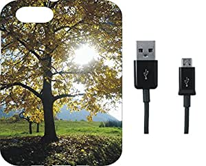 BKDT Marketing Beautifully printed Soft Back cover for Lava X81 4G With Charging Cable