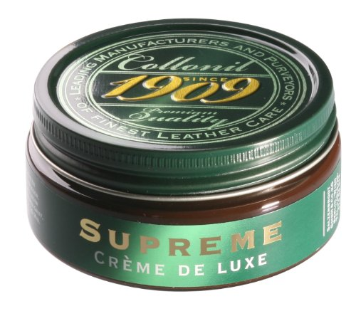 Collonil 1909 Supreme Creme de Luxe 79540000389 Schuhcreme Glattleder,Braun/Dunkelbraun