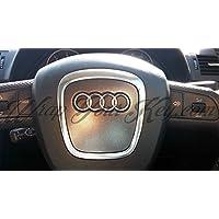 Grigio Scuro Satinato metallico Airbag Volante, S RS A1A3, A4, A5, A6, A8TT Q3Q5Q7