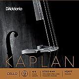 D\'Addario Bowed Corde seule (Sol) pour violoncelle D\'Addario Kaplan, manche 4/4, tension Heavy