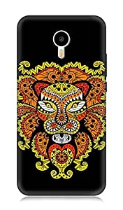 Meizu M3 Note 3Dimensional High Quality Designer Back Cover by 7C