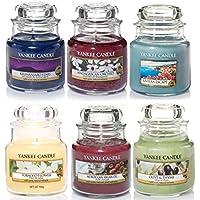 Yankee Candle - Juego de regalo de 6 tarros pequeños clásicos, selección