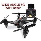Ray GW198 Drone GPS Posicionamiento Motor sin escobillas Fotografía aérea 5G WIFI Transmisión de imágenes 720P Lente gran angular RC Aviones Drone Quadcopter profesional