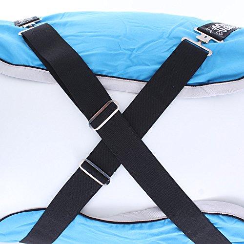 Horseware Rambo Dry Rug Supreme – Blue/Black/White, Groesse:M - 8