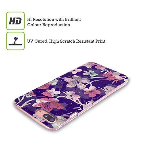 Head Case Designs Foglie Di Banana Stampe Ombra Cover Retro Rigida per Apple iPhone X Boccioli Di Ciliegio