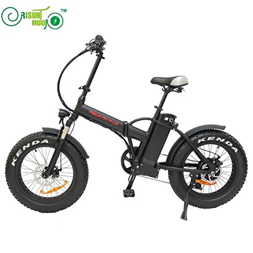 Free Shipping Mini Foldable Ebike 36V 500W 8Fun/Bafang Hub Motor 20 Inch Fat Tire Electric Bicycle With 36V 15AH Lithium Battery