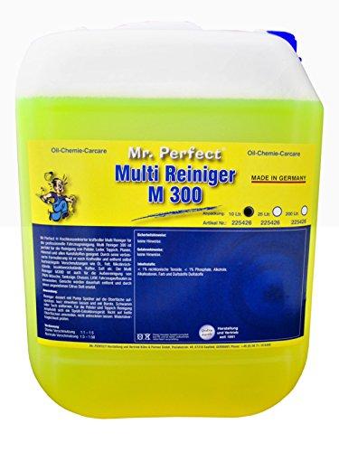 Mr. Perfect® M 300 Multireiniger, 10 Liter - Universalreiniger-Konzentrat für Polster, Textilien, Teppiche, Leder, Kunststoffe, uvm.