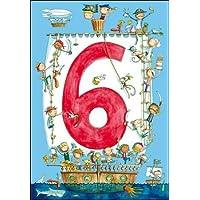 Woodmansterne Birthday Card - Age 6 - Pirates (5982)