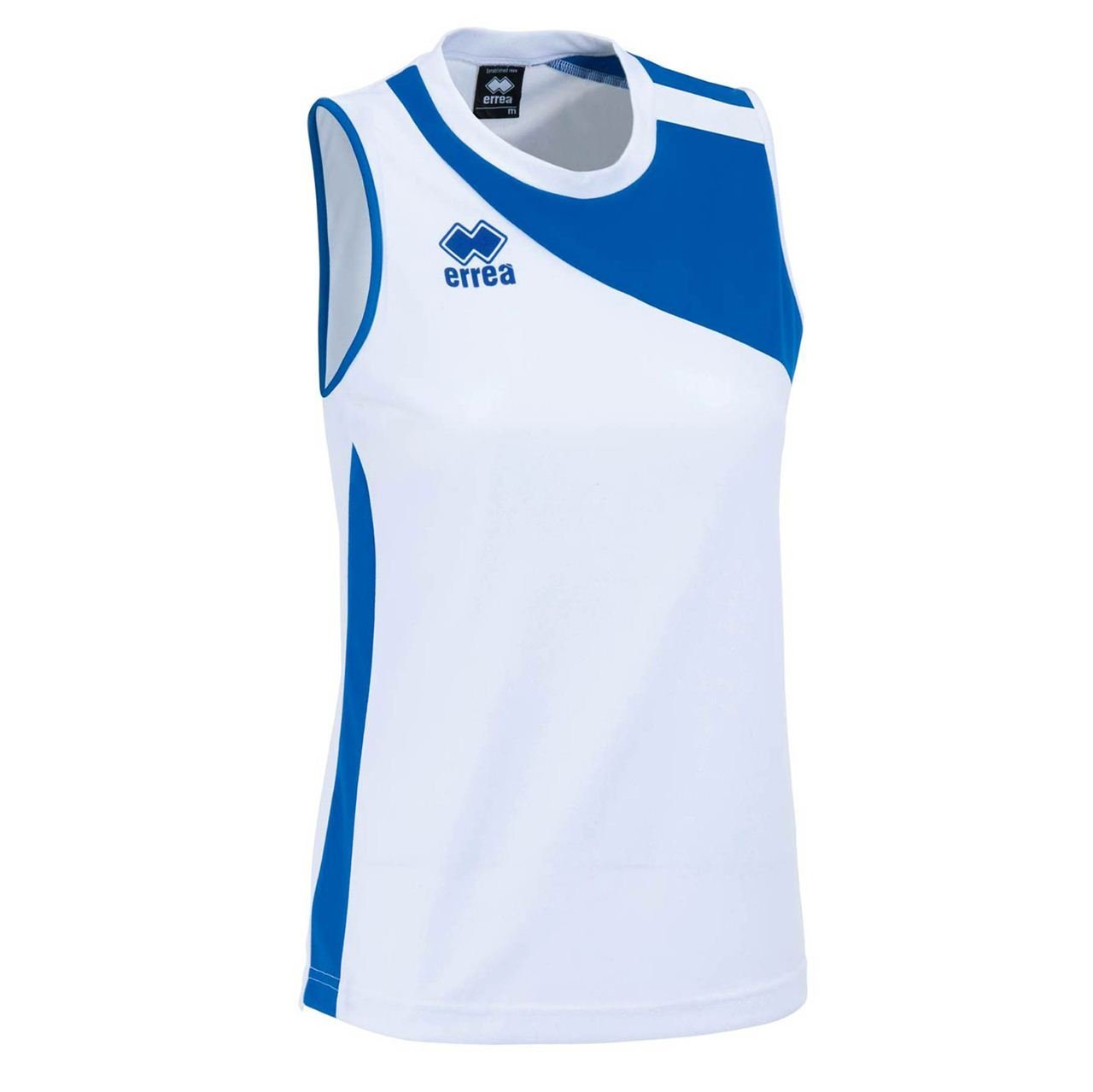 Errea Amazon MG Donna,Bianco/Azzurro Size XL