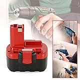 Dhe 2X 14.4V 3.0Ah Ni-MH Replacement Battery for Bosch BAT038 BAT040 BAT041 BAT140 BAT159 1661 13614 1440 15614 AHS 41 ACCU Art 26 PSR 14.4 2607335275 2607335533 2607335711