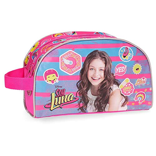 Walt DisneyTrousse de toilette double compartiment adaptable Yo Soy Luna Rose