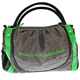 Borussia Mönchengladbach Damentasche grau grün