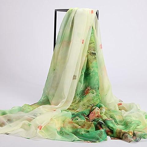 Autunno Inverno Womens Fashion eleganza Super Morbida sciarpa scialle Europa Street Style(cotone/lana/filo/seta)W-2282