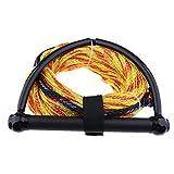 non-brand MagiDeal 1 Stück Sports Wasserskileine Leine Wakeboard Seil Hantel Rope Abschleppseil mit Griff