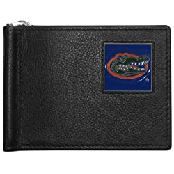 NCAA Florida Gators Leather Bill Clip Wallet