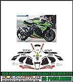 Emanuel & Co Kit adesivi decal stikers KAWASAKI ZX-10 R NINJA 2011-2015 REPLICA SBK 2013