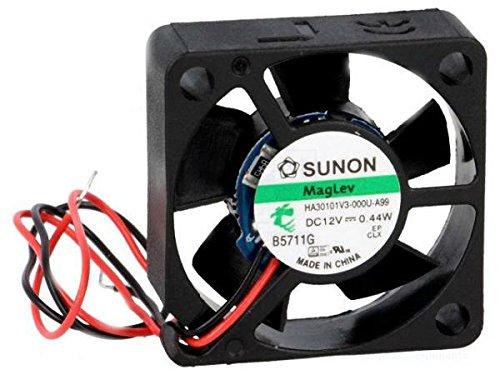 HA30101V3-A99 Fan: DC, SUNON HA30101V3-000U-A99, 12VDC, 5.95m3/h /FBA