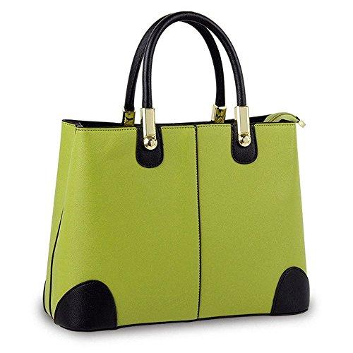 Koson-Man-Borsa Vintage da donna, borsetta per impugnatura, verde (Verde) - KMUKHB346