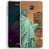 Samsung Galaxy A3 (2016) Housse Étui Protection Coque Horizon Statue de la liberté New York