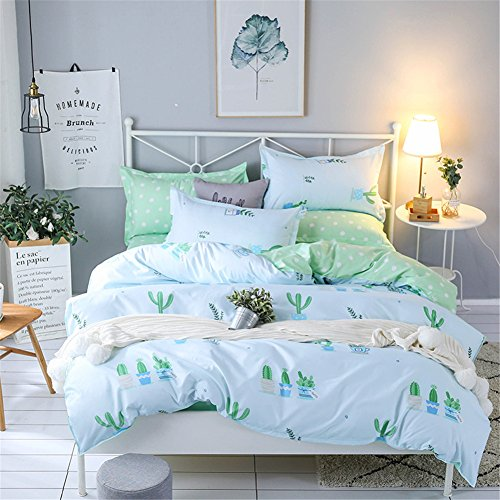 zhizhen Colorful fashion Urban Style bedruckt Design Bettbezug-Set 3Betten Tasche Bettbezug und Kissenbezügen Set, 003, 150*200cm for 1.2M Bed