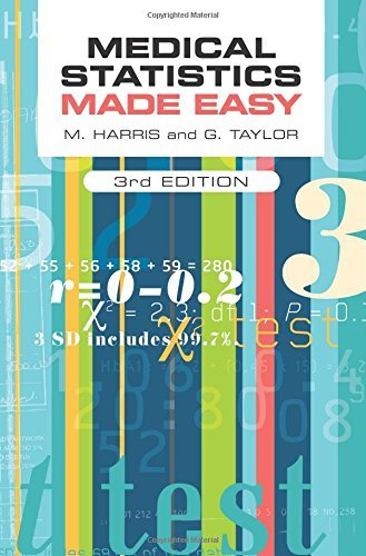 Medical Statistics Made Easy, third edition: Written by Michael Harris, 2014 Edition, (3rd Edition) Publisher: Scion Publishing Ltd [Paperback]