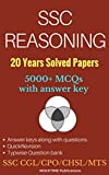 #10: SSC Reasoning 20 Years Solved Papers (5000+ MCQs): for CGL/CHSL/CPO/MTS/GD/JE/Scientific Assistant