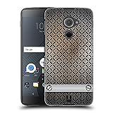 Head Case Designs Edestahl Industrielle Texturen Ruckseite Hülle für BlackBerry DTEK60