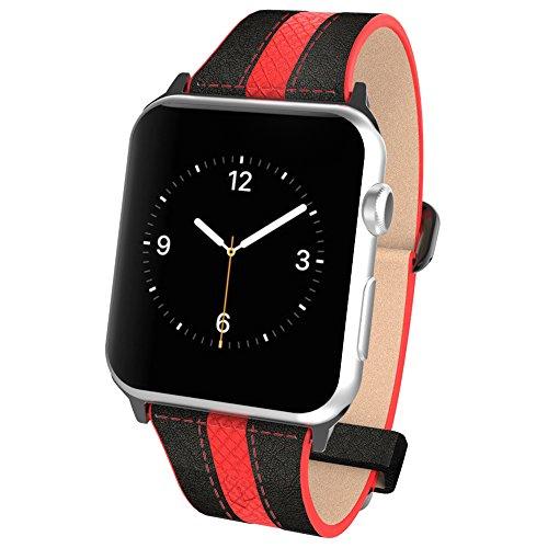 apple-watch-pebble-leder-dual-material-band-poetic-premium-leather-apple-watch-42mm-ersatz-band-neu-