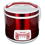 United UD 747 2.8 L Electric Rice Cooker with Steamer and Warmer(Red)