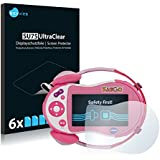 6x Screen Protector for Vtech Kidigo Protection Film - Crystal-Clear, Bubble-Free