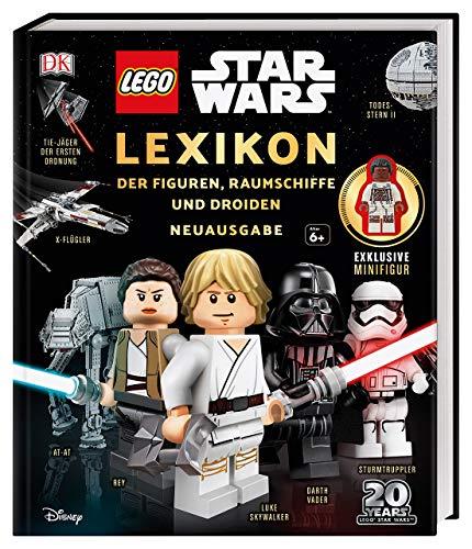 LEGO® Star WarsTM Lexikon der Figuren, Raumschiffe und Droiden: Neuausgabe. Mit exklusiver Minifigur Finn