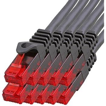 1 aTTack CAT6 PIMF SSTP Netzwerk Patch-Kabel: Amazon.de: Computer ...