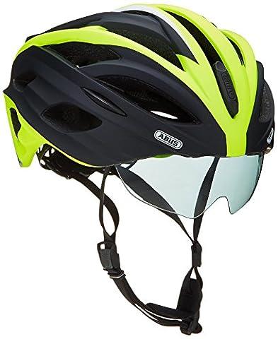 ABUS In-Vizz Casque Vélo Noir/Vert Taille