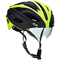 ABUS In-Vizz - Casco per bicicletta, Verde (Race Green), 60-63 cm