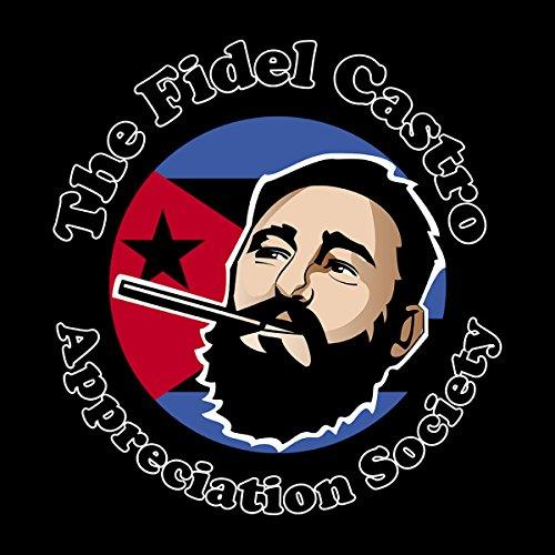 Fidel Castro Appreciation Society Men's Hooded Sweatshirt Black