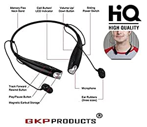 GKP Products ® Bluetooth Wireless In-Ear Headphones (Multi-color)