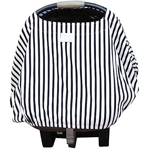 Loved Littles-4-in-1-Coprisedile per auto, coperta per allattamento e carrello, alto per sedia