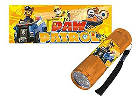 Paw Patrol LED Torch Orange