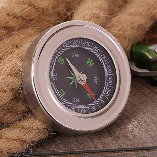 Jiobapiongxin Wasserdichte Kompass Tragbare Luo Pan Camping Outdoor Survival Navigation Werkzeug