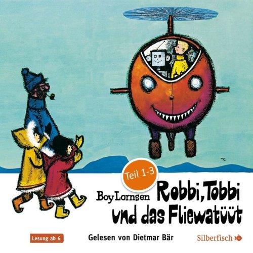 Buchseite und Rezensionen zu 'Robbi, Tobbi und das Fliewatüüt (Teil 1 - 3)' von Boy Lornsen