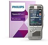 Philips Pocket Memo Diktiergerät DPM8000 inkl. Spracherkennung und internationalem Schiebeschalter